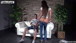 Young dude fucks three sex-appeal Czech chicks Wendy Lieutenant and her girlfriend