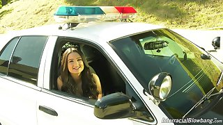 In the hands of the law teen with dimples Eliza Ibarra gives an interview
